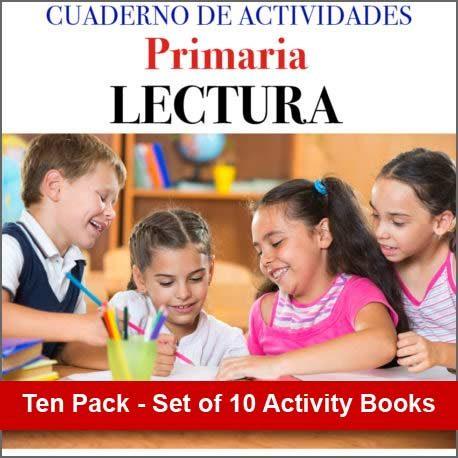 Cuaderno de Actividades Primaria Lectura - Ten Pack Set