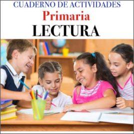 Cuaderno de Actividades Primaria Lectura (cover icon)