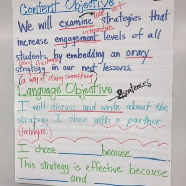 Maximizing academic language opportunities for our students
